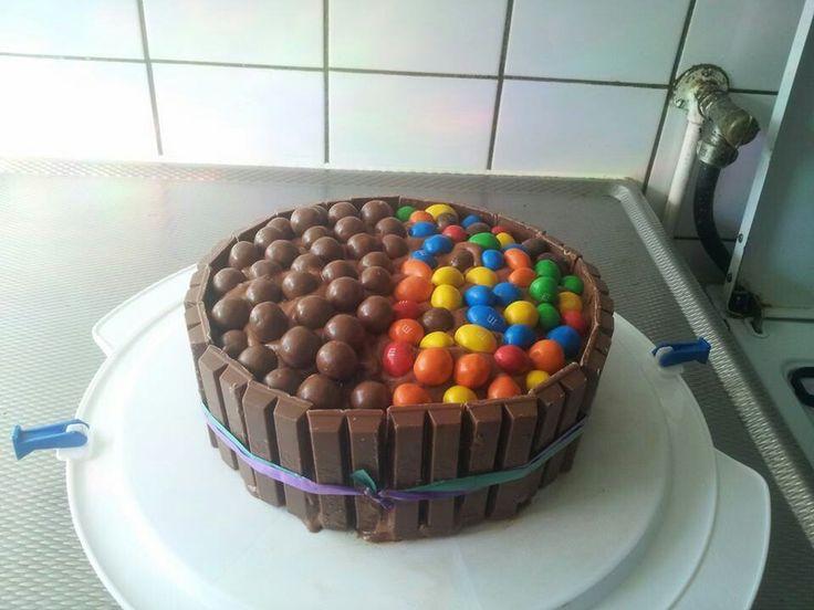 Kitkat taart.