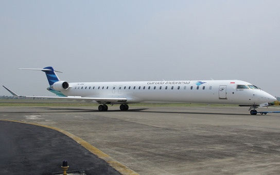 PICTURES: Garuda Indonesia takes first Bombardier CRJ1000