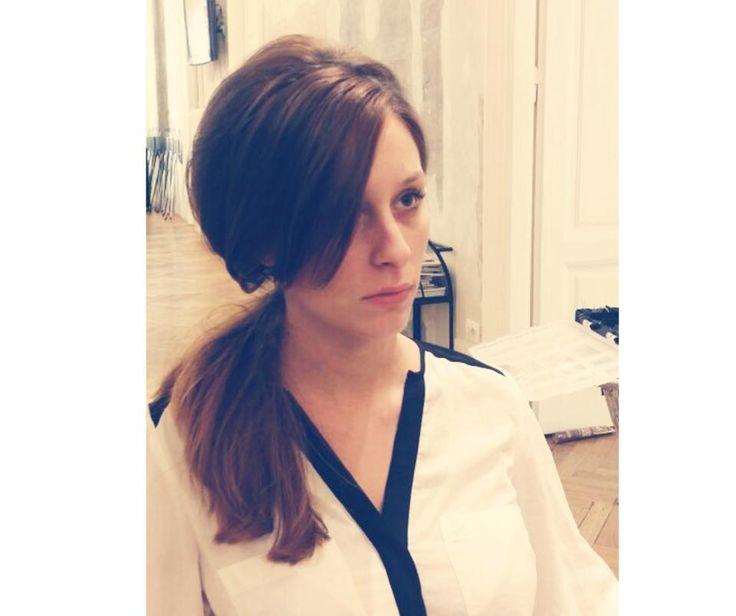 Jessica Tafili con una pettinatura vintage alla Goran Viler Hair SPA di Trieste  https://www.facebook.com/GoranVilerHairSpa