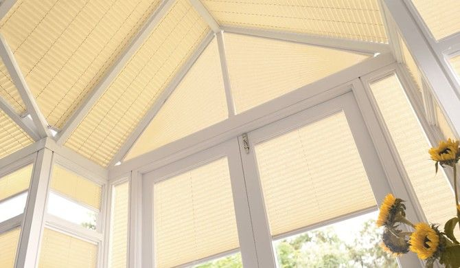 Make your conservatory instantly more comfortable with our conservatory roof blinds >>