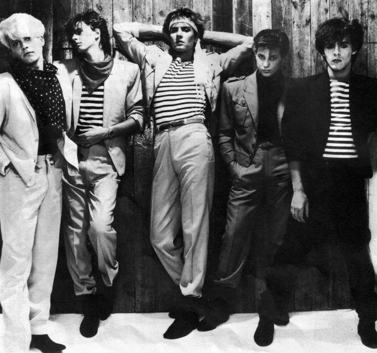 Duran Duran - 80s- yesterday was Simon's birthday!  How odd is it that I even remember that?