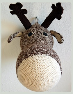 moose pattern in English + Danish
