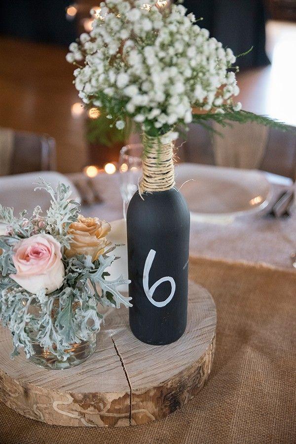 Jordan & Michael - Romantically Rustic DIY Wedding by jadie foto as seen on TodaysBride.com