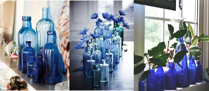 decoracion de baños azules - Buscar con Google