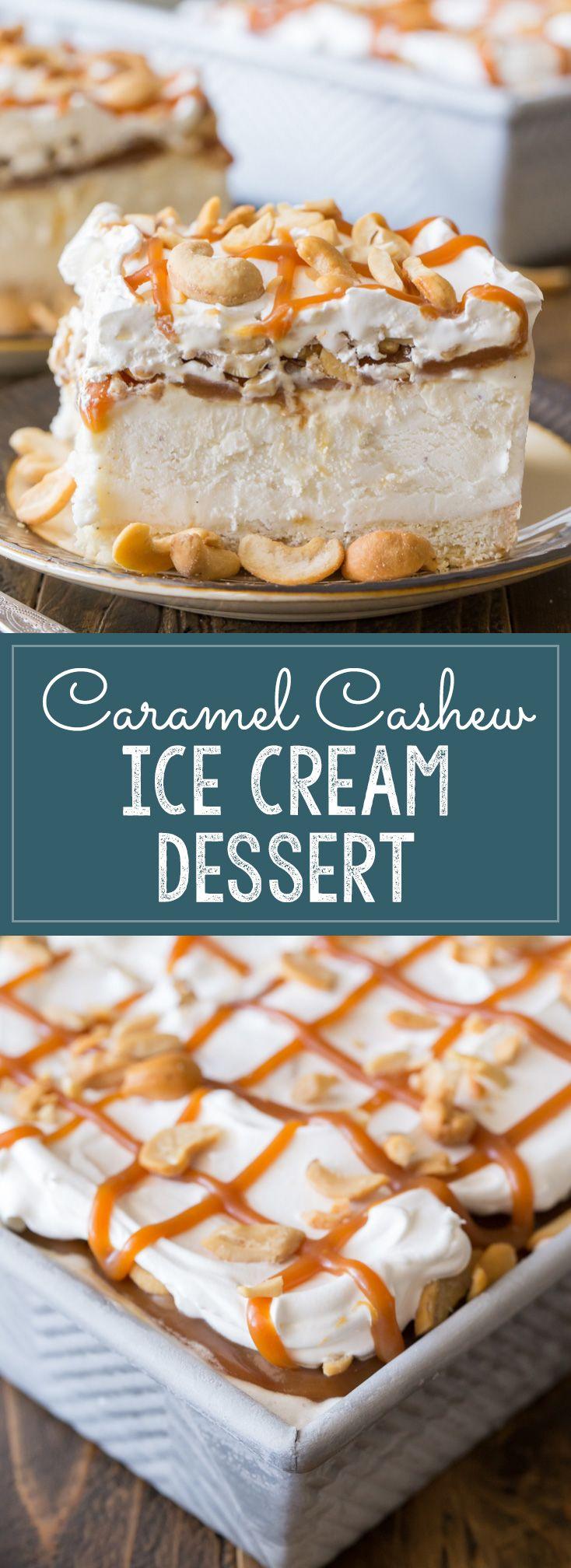 Caramel, Homemade caramel sauce and Ice cream desserts on Pinterest