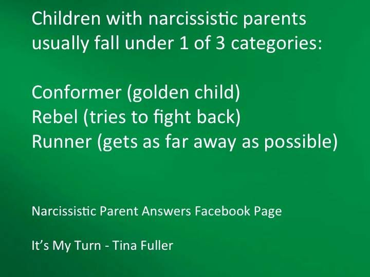 I have been all three of these, but now I am the Runner. Get as far away as I can from ALL who have conformed to toxic mothers' manipulations.