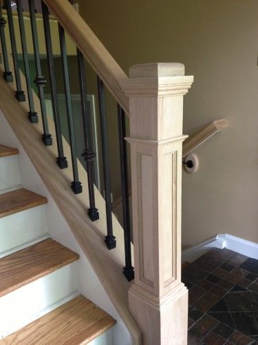 Awesome Box Newels American Stairs