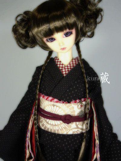 SD少女~SD13少女普段着のお着物