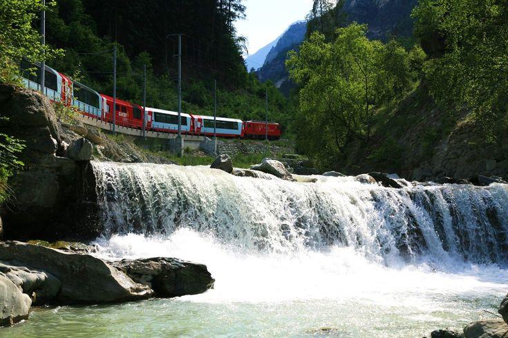 Glacier Express, Switzerland  www.queuemetrics.com www.loway.ch