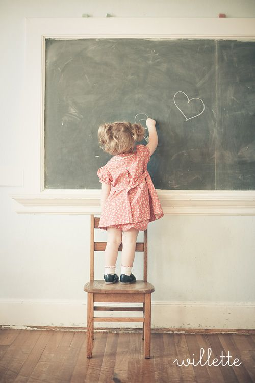 : Little Children, Chalkboards, Little Girls, Sunday Schools Lessons, Inspiration, Love One Another, Two Heart, Kids Photography Schools, Kids Clothing