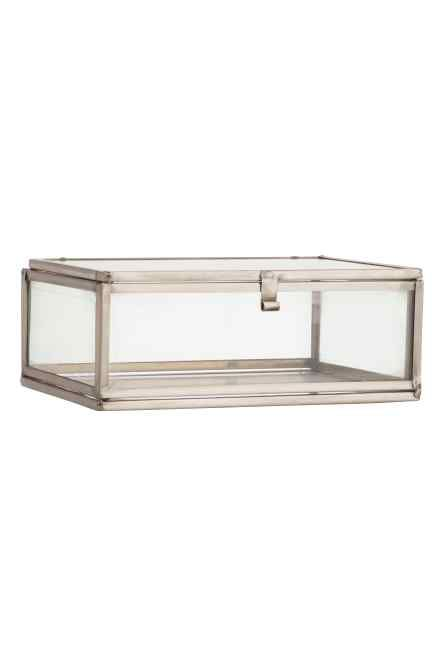 Small Clear glass box | H&M