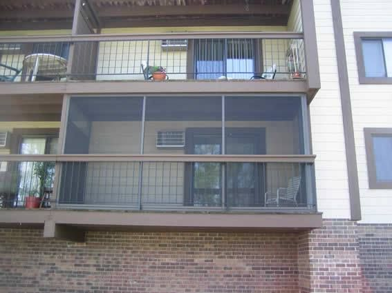 Screen In Apartment Balcony Patio Screen Enclosure Screen Enclosures Apartment Patio