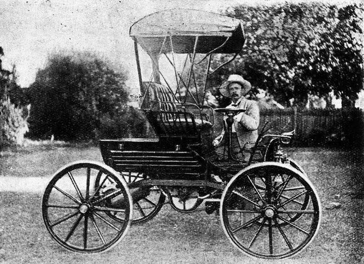 1902 Trevethan, the first car made in Queensland.