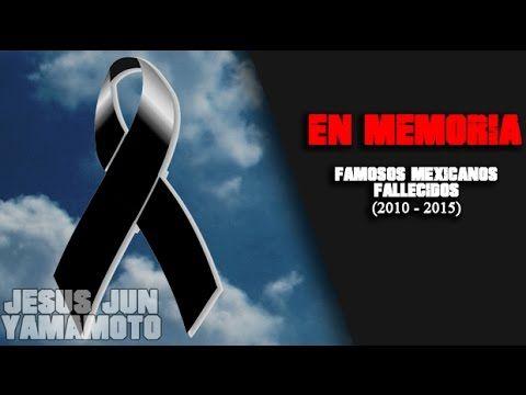 CANTANTES FALLECIDOS ROMANTICOS EN ESPAÑOL   YouTube 360p - YouTube