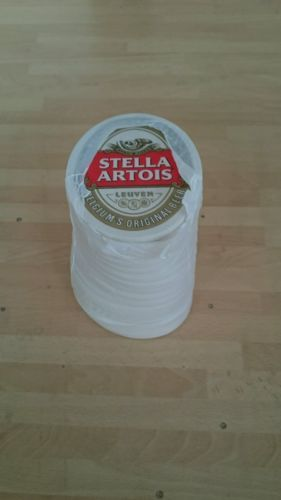 #Approx 100 stella artois beer mat / #coaster home #pub/bar/mancave,  View more on the LINK: 	http://www.zeppy.io/product/gb/2/172264443335/