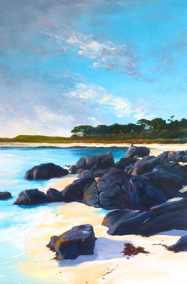 Foldaway Tote - California Seascape by VIDA VIDA GmChbMvM