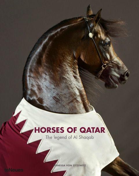 Horses of Qatar by Vanessa von ZItzewitz
