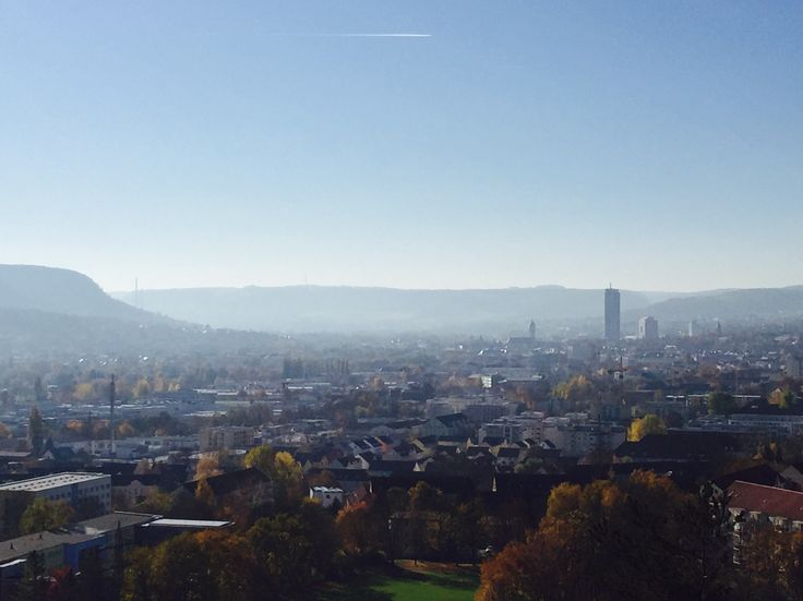 Jena, Blick vom Heiligenberg