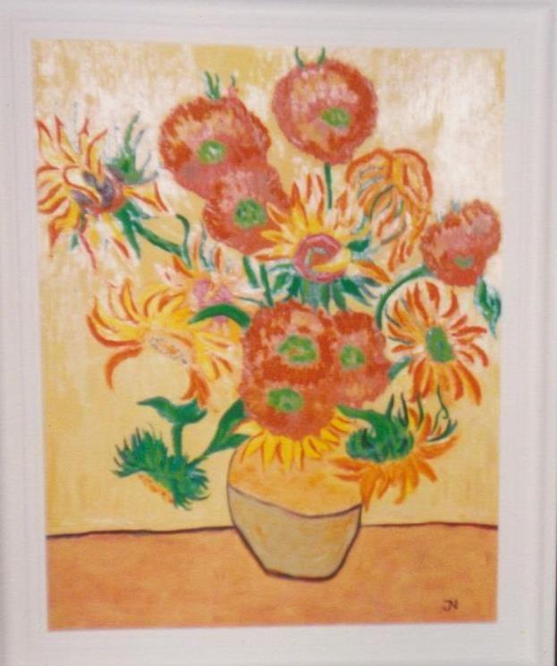 slunečnice podle Vincenta