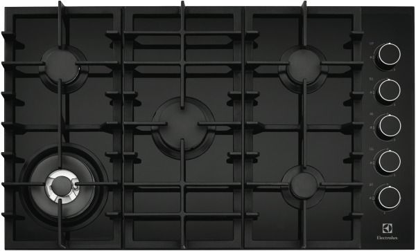 This is our cooker -  Electrolux EHG953BA 90cm Gas Cooktop at The Good Guys