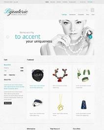 Ce template e-commerce Clicboutic conviendra à la vente en ligne de bijoux