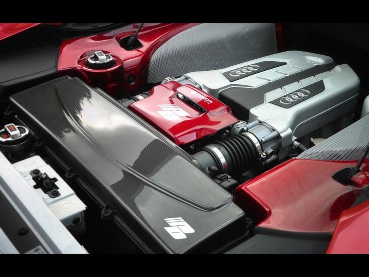 Under the hood; Audi R8 GT850