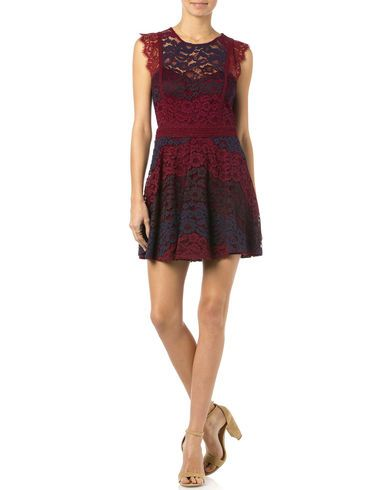 Miss Me Sleeveless Lace Dress - Country Outfitter
