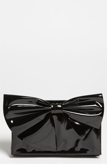 Gorgeous Clutch! Valentino 'Lacca Bow' Flap Clutch | Nordstrom #cocktailparty #holidayentertaining