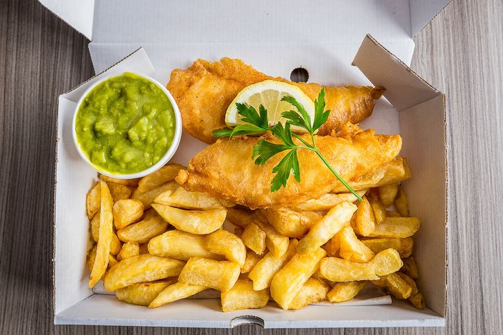 A London Fish N Chip Shop Is Now Offering A Vegan Menu Fish And Chip Shop Fish And Chips Food Network Recipes