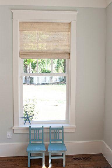 grass blinds-coronado white sand bali  paint-ben moore healing aloe