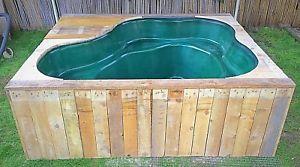 Details about pond koi vat holding tank preformed pond for Koi holding pool