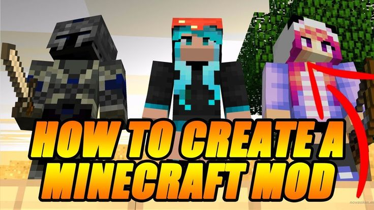 how to create a minecraft mod without coding