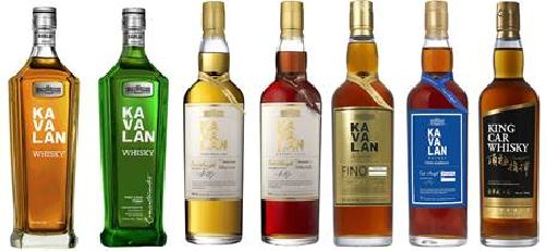 Kavalan Whisky of Taiwan Arrives in the U.S.