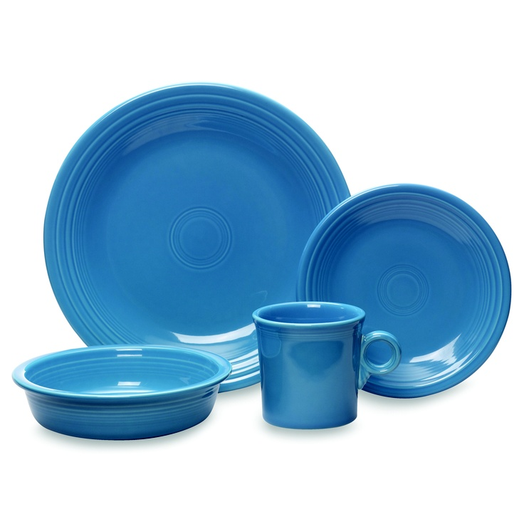 The bold color and chic style of this fully vitrified ceramic industrial strength dinnerware turns every meal into a fiesta! These Fiesta Dinnerware and Serveware in Peacock offer stunning glazed dinnerware pieces that will create a table presentation that is irresistible and fun.