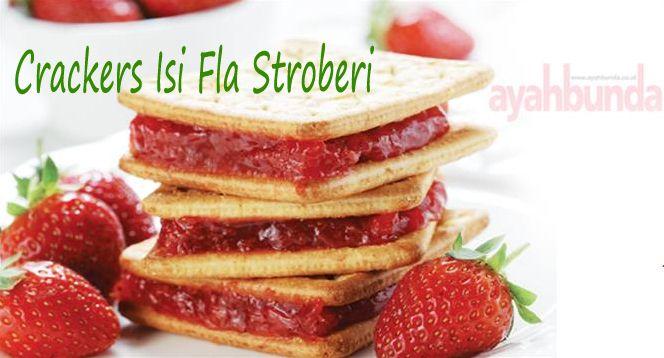Crackers Isi Fla Stroberi :: Crackers with Fla Strawberry :: Klik link di atas untuk mengetahui resep crackers isi fla stroberi