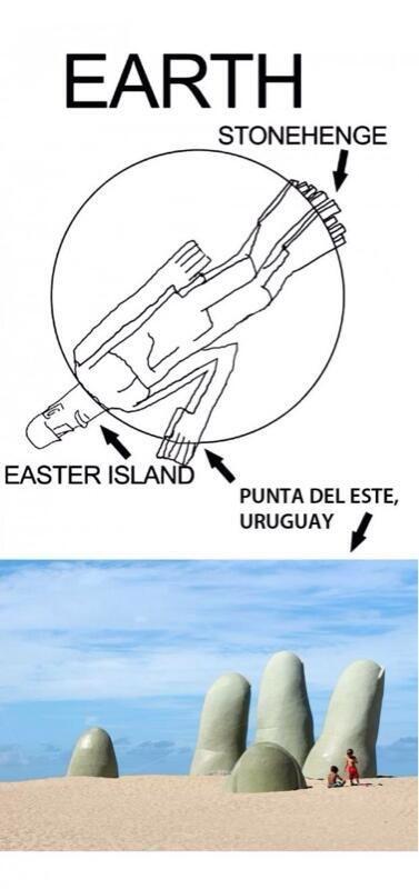 Podría ser!! (Sí, ya sé que ya encontraron el resto del cuerpo de los de Pascua)