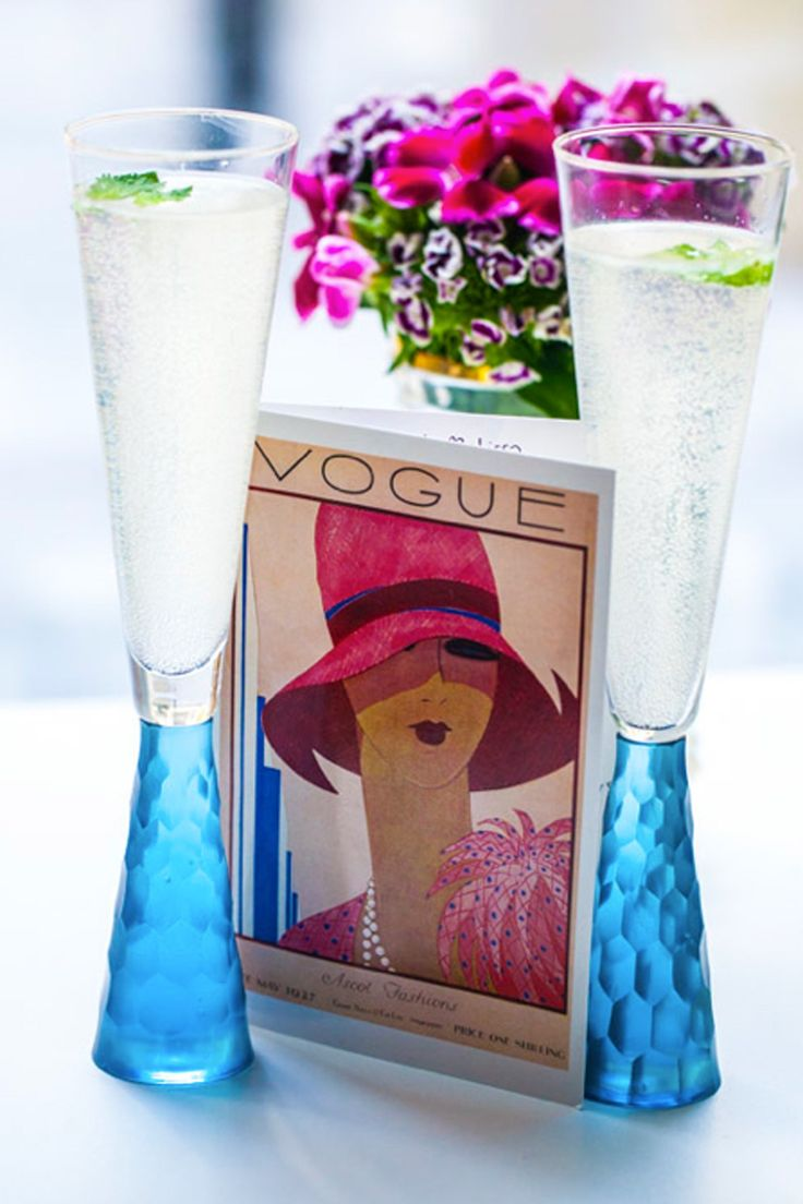 Hemsley + Hemsley celebrate a new book and two years of blogging for Vogue with a delicious mocktail recipe