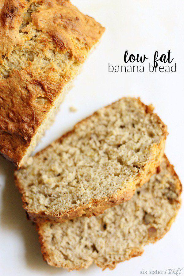 Low Fat Banana Bread Recipe   Six Sisters' Stuff