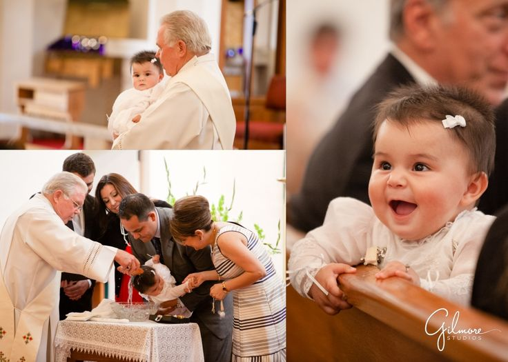 Catholic Baptism for Baby Chloe – Orange County Baby Photographer ~ Newport Beach Wedding, Newborn, and Family Portrait, Baby Girl, Pink Cake, Cute, Brown, Black, and Red Dress, GilmoreStudios.com