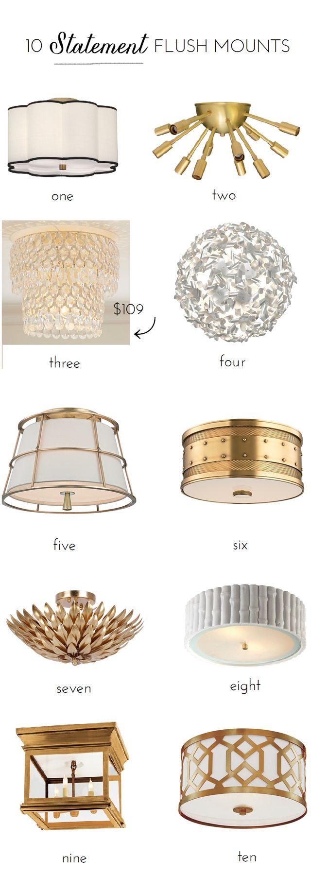 Best 25+ Flush mount lighting ideas on Pinterest   Hallway ...