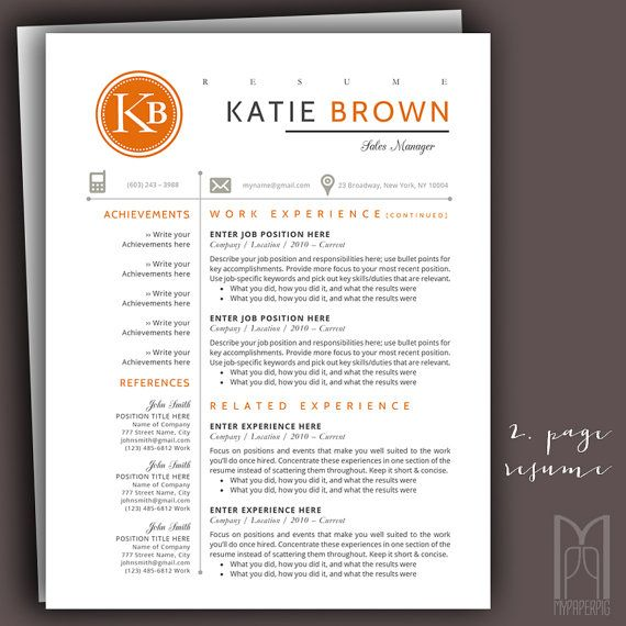 109 best ALL OF MY Modern \ Creative RESUME TEMPLATES images on - Modern Resume Styles