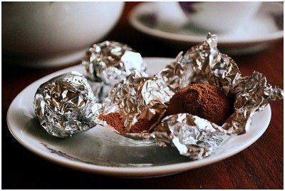 Шоколадная помадка с варёной сгущёнкой и орехами