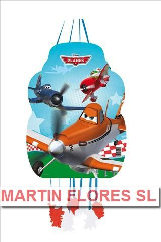 Piñata mediana de Aviones. Más en www.martinfloressl.es
