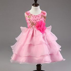 Baby Girl Princess Party Wedding Dress