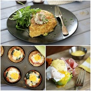 Bacon nests, avo Benedict and more!