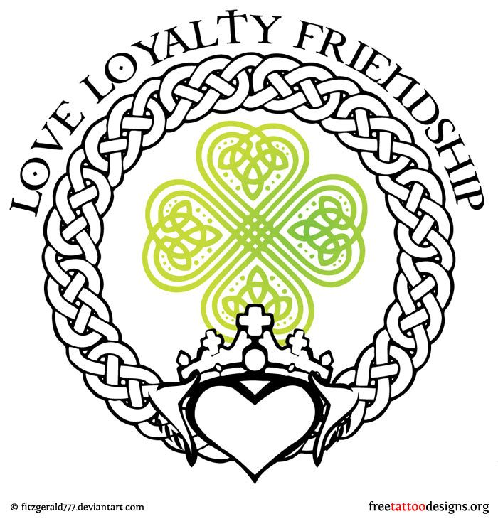 Tattoo Designs: Tattoo Ideas, Celtic Crosses, Irish Tattoos, Celtic ... Irish Loyalty Symbol Tattoo