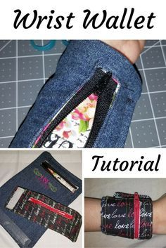 Wrist Wallet Tutorial from H&P Artistry