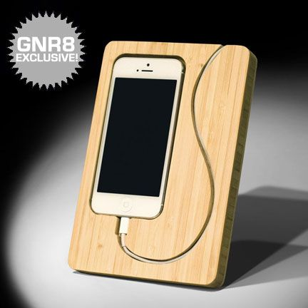 Generate Chisel iPhone Dock, laser cut project candidate