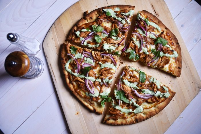 BBQ Chicken Pizza — Nikki Dinki Cooking