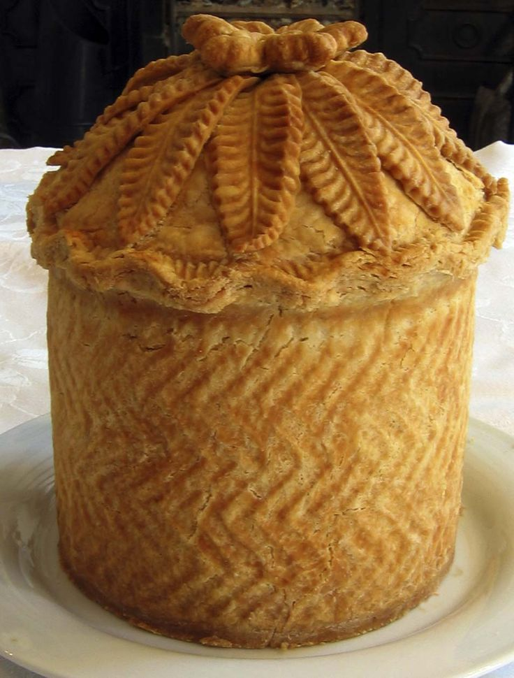 Where else in the world can you learn to make a beautiful nineteenth century water ice like this?       Or bake a Strasbourg Pie like this...